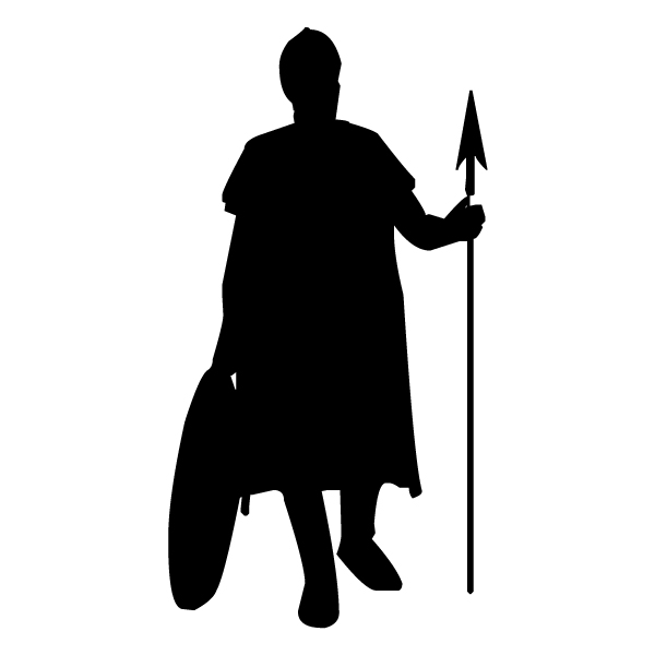 Foot Soldier 2B LAK 13-A Prince Princess Camelot Wall Decal