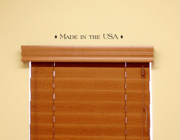 Made in the USA Wall Decal