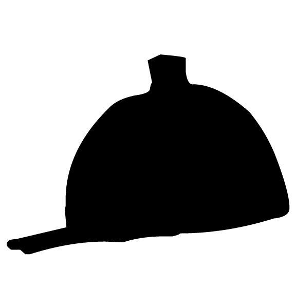 Helmet A LAK 10-8 Horse Wall Decal