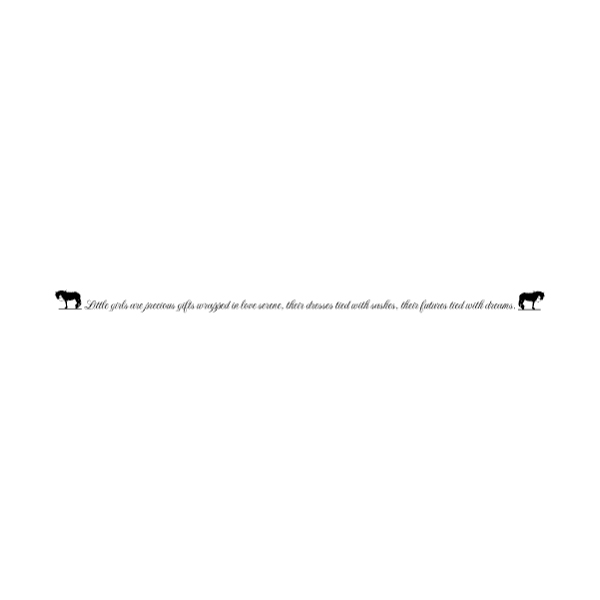 Horse A LAK 30-M Farm Wall Decal