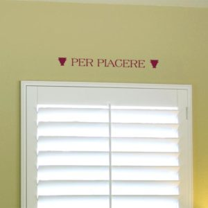 Per piacere Wall Decal