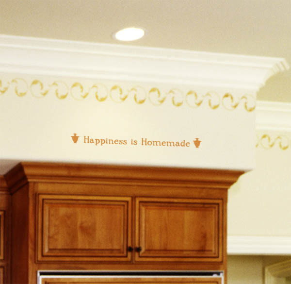 Happiness is Homemade Wall Decal