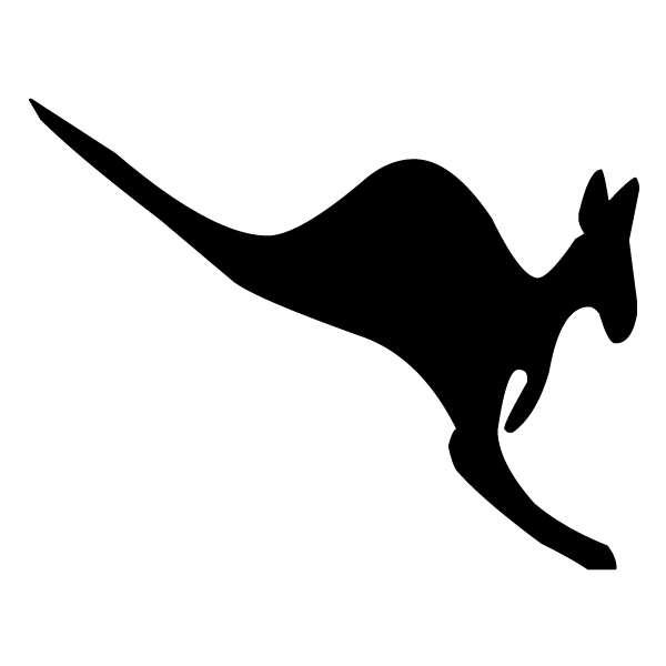 Kangaroo Silhouette 2A LAK 14 g Animal