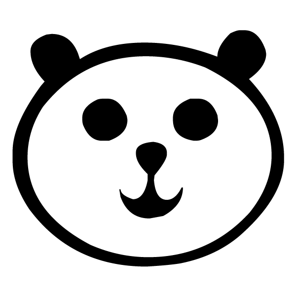 Panda 1 LAK 14 6 Animal Wall Decal
