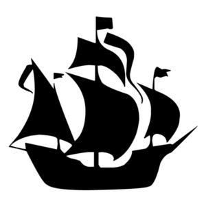 Pirate Ship 1B LAK 27-1 Pirates Wall Decal