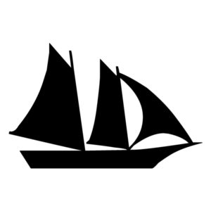 Pirate Ship 2A LAK 27-7 Pirates Wall Decal