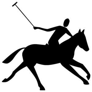 Polo A LAK 10-6 Horse Wall Decal