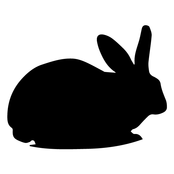 Rabbit A LAK 30-Q Farm Wall Decal