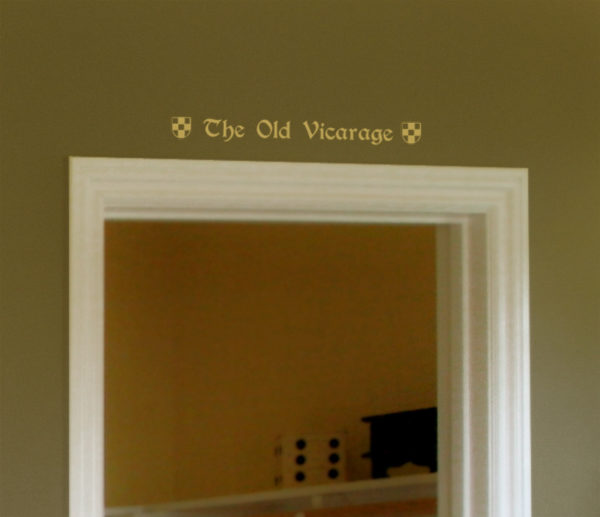 The Old Vicarage Wall Decal