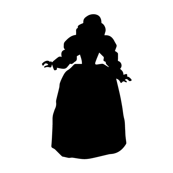Stepmother A LAK 13-K Prince Princess Camelot Wall Decal