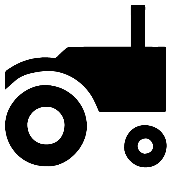 Tractor 2B LAK 30-V Farm Wall Decal