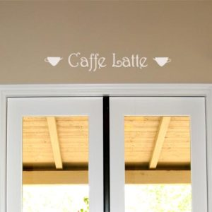 Caffe Latte Wall Decal