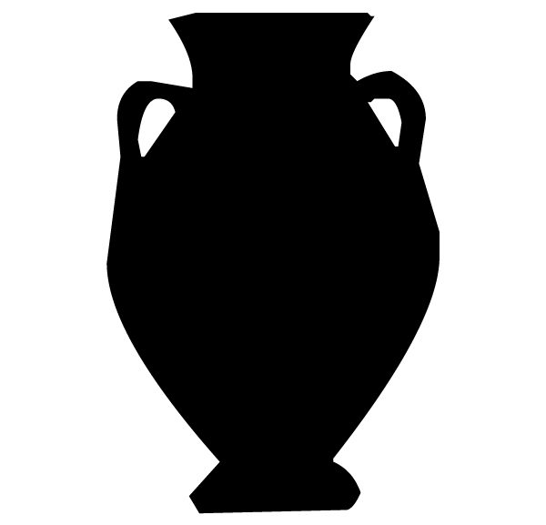Tuscan Urn Lettering Art 9 7 Wall Decal