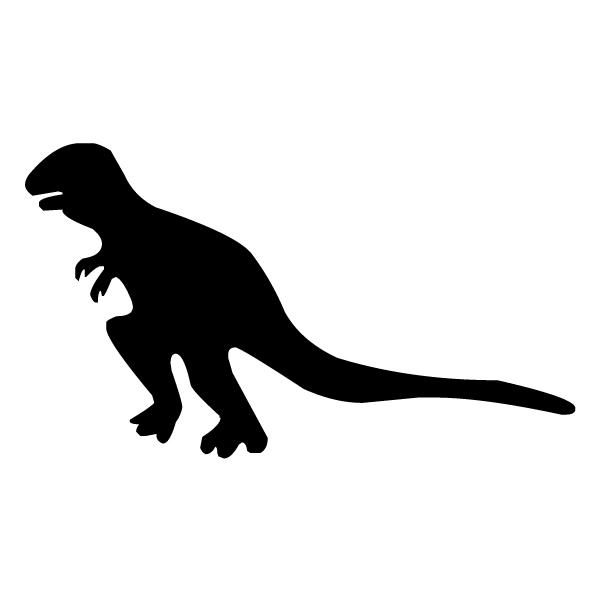 Tyrannosaurus Rex Silhouette B LAK 26-1 Dinosaur Wall Decal