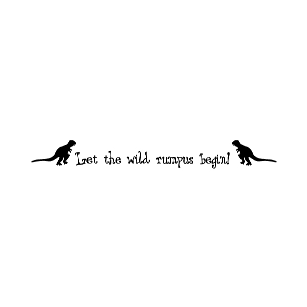 Let the wild Wall Decal