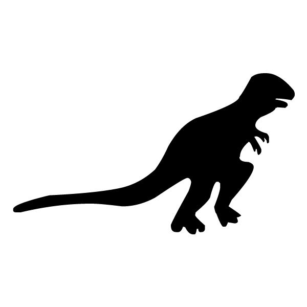 Tyrannosaurus Rex Silhouette LAK 14 a Animal Wall Decal
