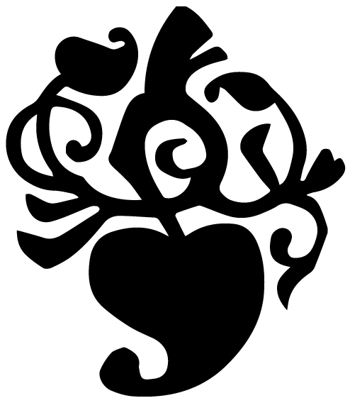 Vine Lettering Art 1 b Wall Decal