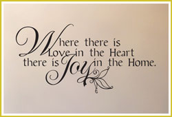 Where there is Love in the Heart...