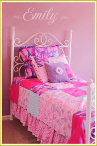 Dainty Girl's Bed Room