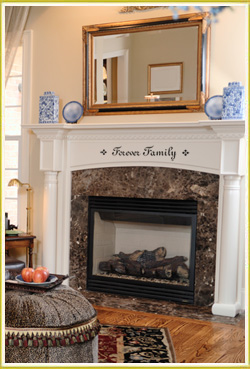 enhance your window seat with warm words of inspiration
