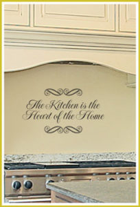 The Kitchen is the Heart...