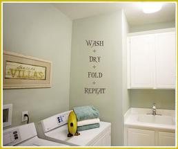 Wash, Dry, Fold, Repeat