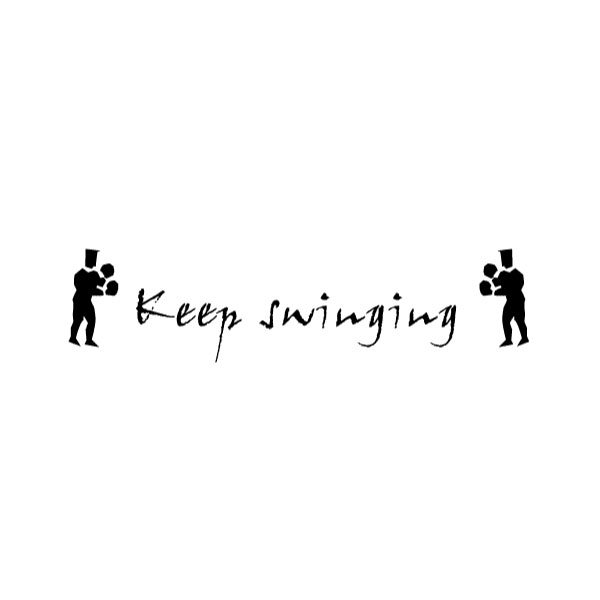 Keep Swinging Wall Decal