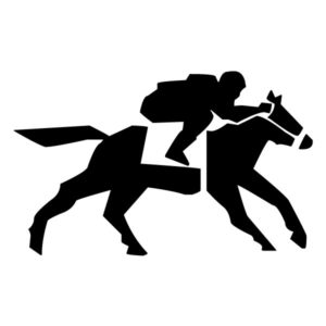 Abstract Equestrian A LAK 2 2 k Sports Wall Decal