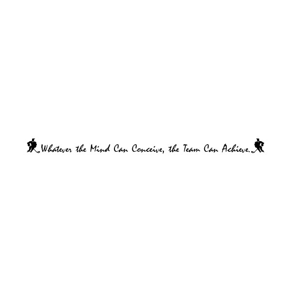 Whatever the Mind Wall Decal