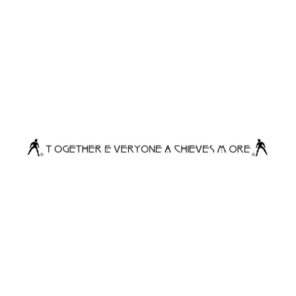 Together Everyone a Wall Decal