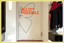 All Things are Possible Classroom Decal