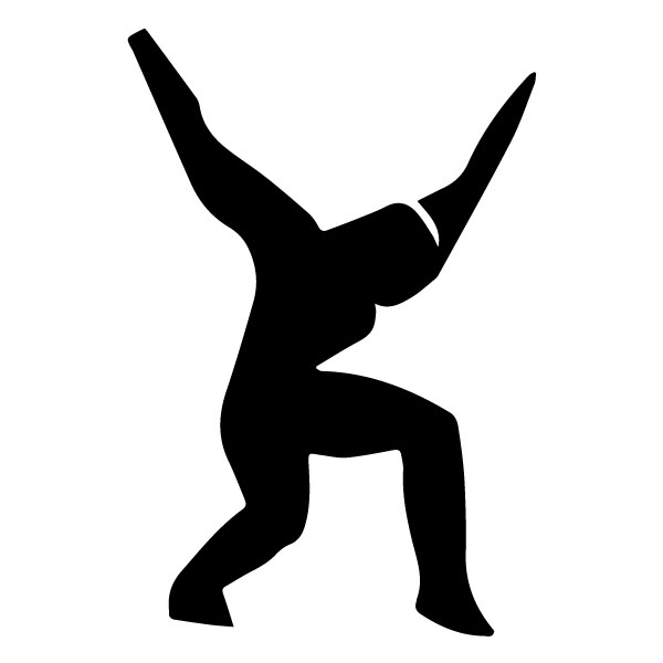 Athletic Figure A LAK 2 3 A Sports Wall Decal