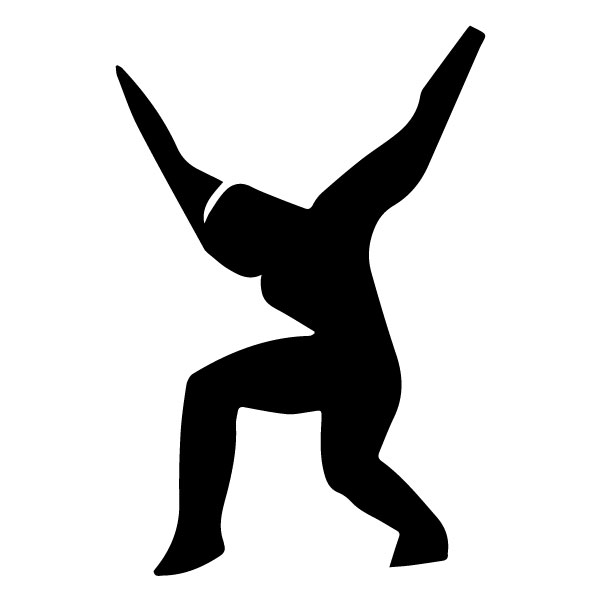 Athletic Figure B LAK 2 3 B Sports Wall Decal