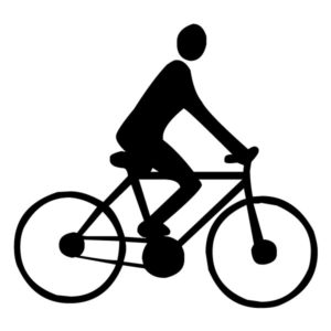 Bicyclist A LAK 2 a Sports Wall Decal