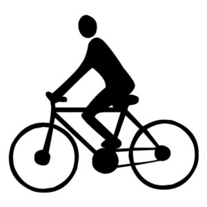 Bicyclist B LAK 2 b Sports Wall Decal