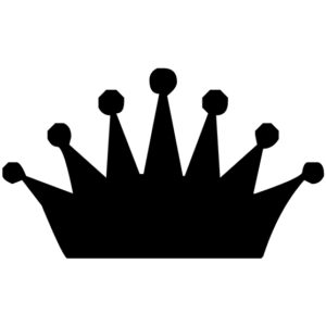 Crown Lettering Art 3 2 Wall Decal