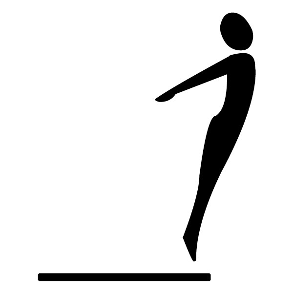 Diving A LAK 2 3 4 Sports Wall Decal