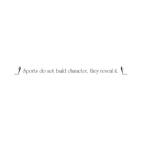 Sports do not Wall Decal
