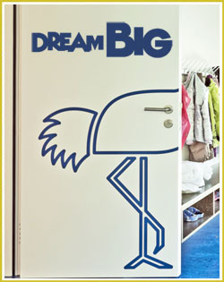 Dream Big Wall Decal