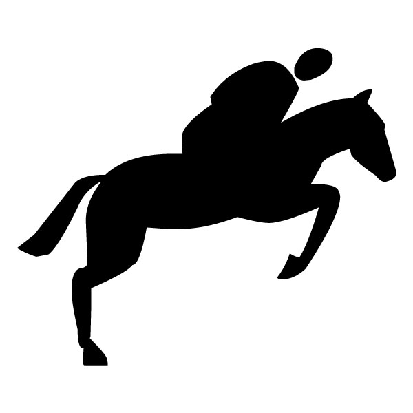 Equestrian A LAK 2 4 Sports Wall Decal