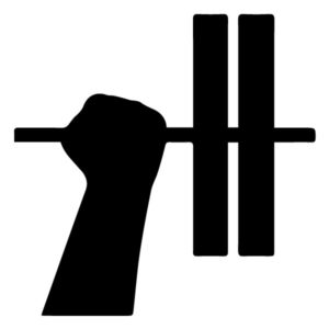 Hand and Weight B LAK 2 2 V Sports Wall Decal