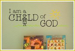 I am a Child of GOD Design