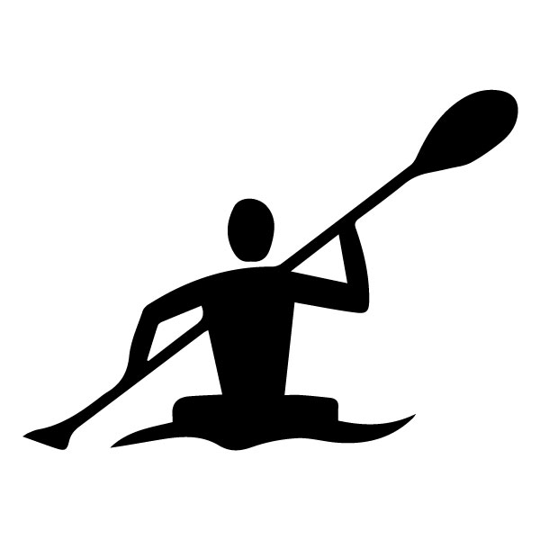 Kayaking A LAK 2 Y Sports Wall Decal