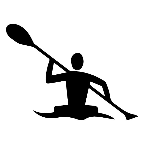 Kayaking B LAK 2 Z Sports Wall Decal