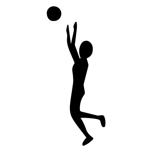 Male Volleyball Player 1B LAK 2 v Sports