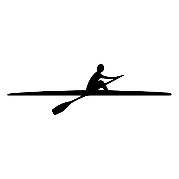 Rowing A LAK 2 c Sports Wall Decal