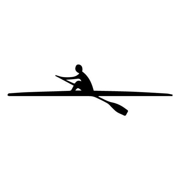 Rowing B LAK 2 d Sports Wall Decal