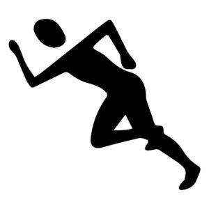 Runner B LAK 2 B Sports Wall Decal