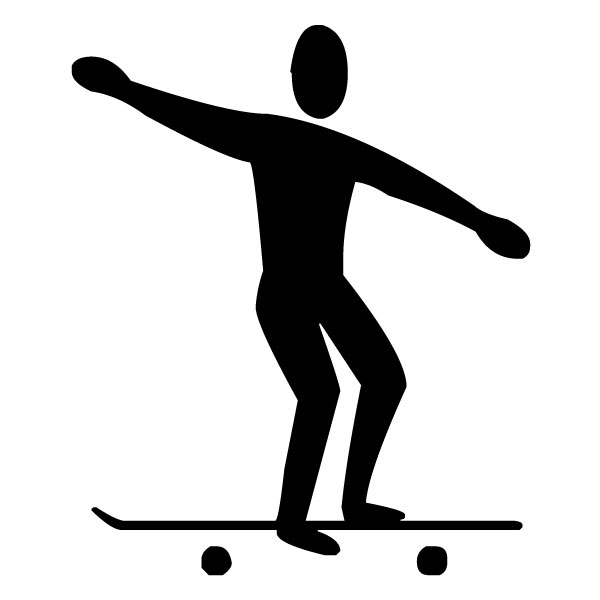 Skate boarder A LAK 2 k Sports Wall Decal