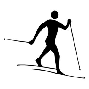 Skier 1A LAK 2 6 Sports Wall Decal